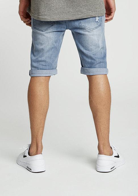 Black Kaviar Jeans-Short Gork blue