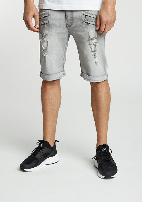 Black Kaviar Jeans-Short Gork grey
