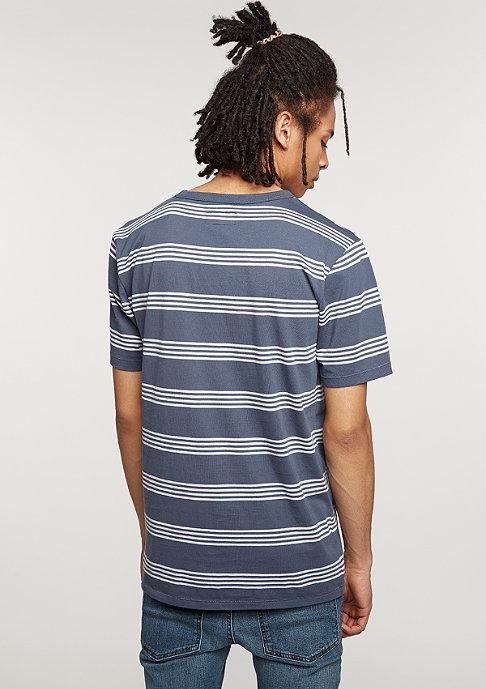 Brixton T-Shirt Cole navy/grey