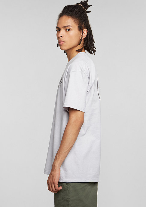 Brixton T-Shirt Oath grey/black