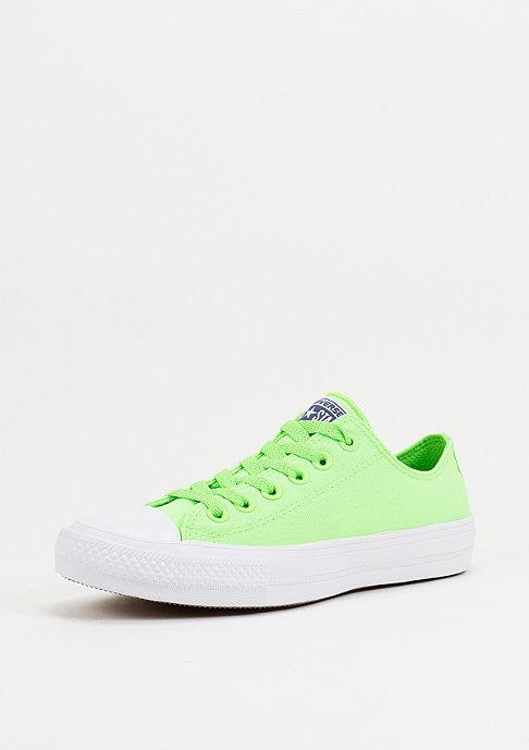 Converse CTAS II Neon Ox green gecko/navy/white