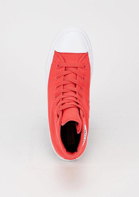 Converse CTAS II Neon Hi red/navy/white
