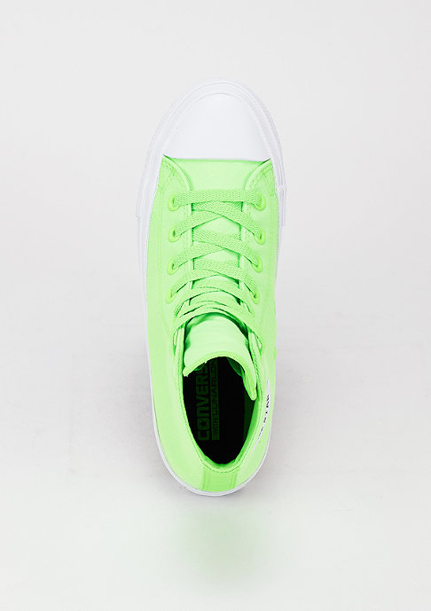 Converse CTAS II Neon Hi green gecko/navy/white