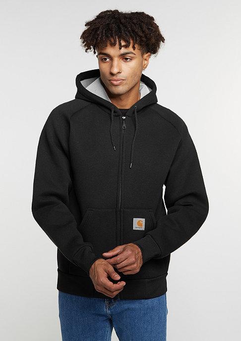 Carhartt WIP Übergangsjacke Car-Lux Hooded black/grey