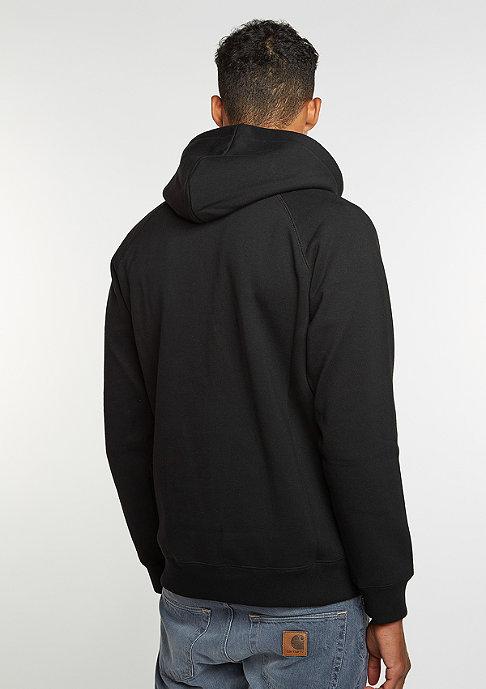 Carhartt WIP Hooded Zipper Chase black