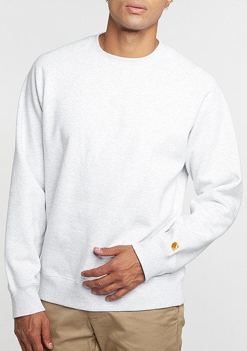 Carhartt WIP Sweatshirt Chase ash heather
