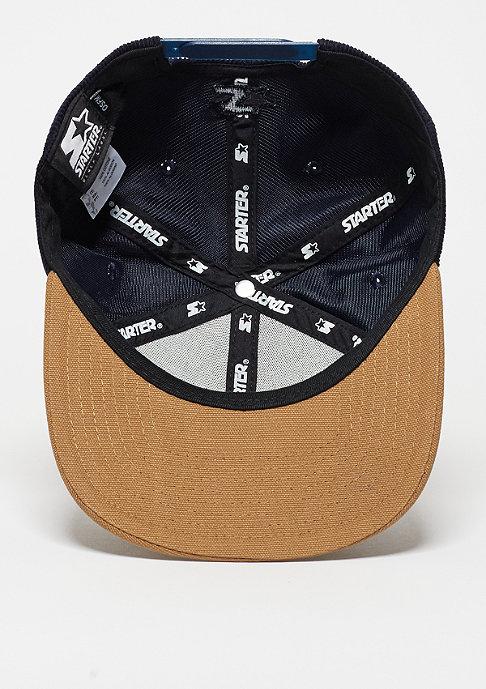 Carhartt WIP Snapback-Cap Gibson Starter navy/hamilton brown