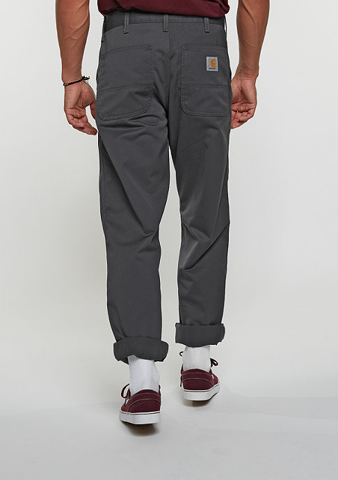 Carhartt WIP Chino Hose Simple blacksmith