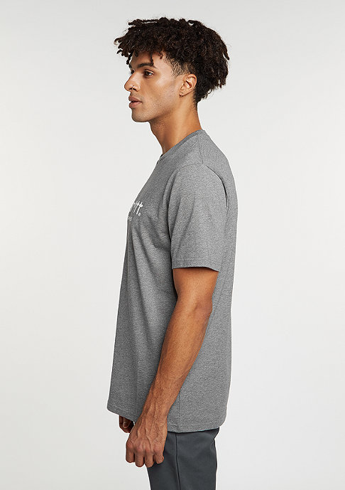 Carhartt WIP T-Shirt Wip Script dark grey heather/white