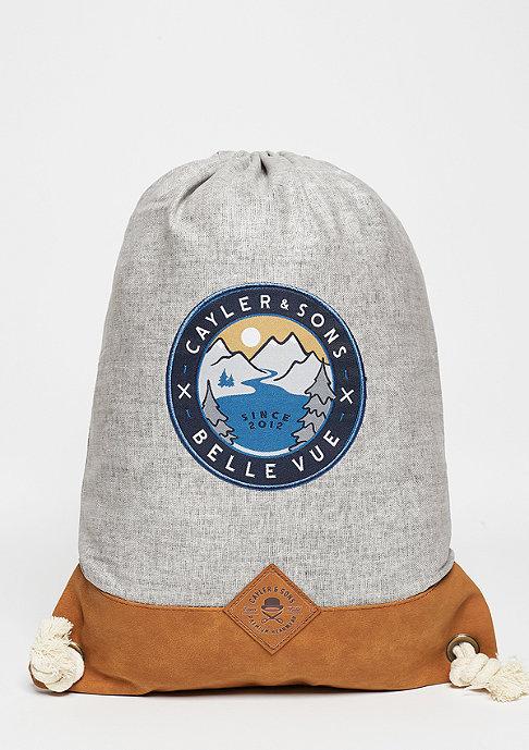 Cayler & Sons Turnbeutel CL BLV Gym Bag grey/brown/mc