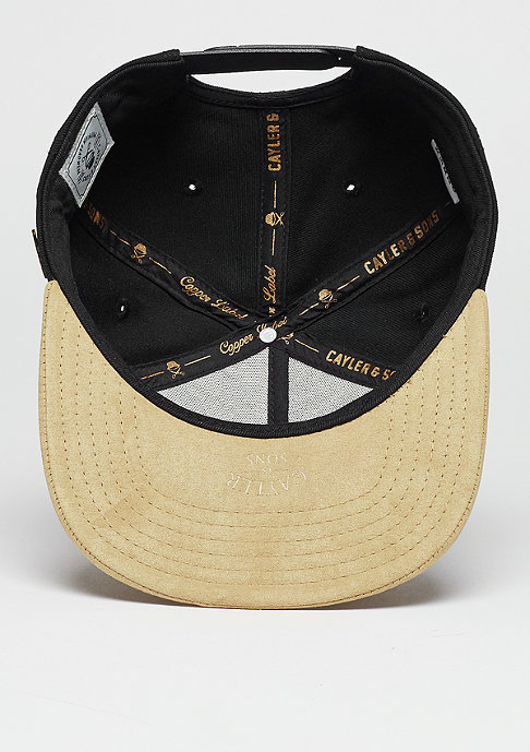 Cayler & Sons Snapback-Cap CL Barber black/gold