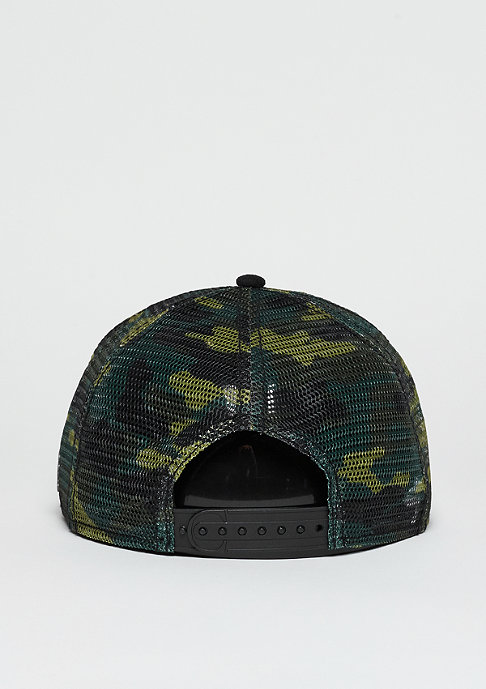 Cayler & Sons Trucker-Cap CL Hunting black/woodland
