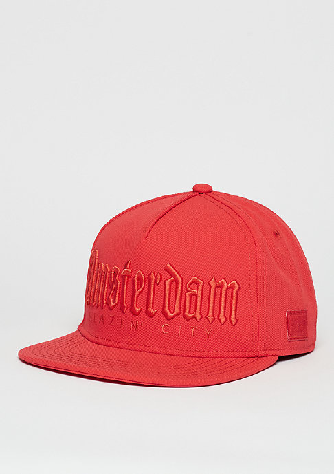 Cayler & Sons Snapback-Cap GL Amsterdam Mono lazer red