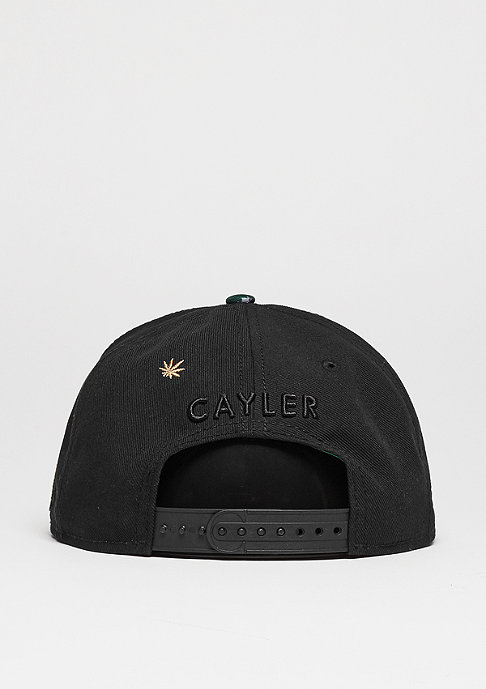 Cayler & Sons Snapback-Cap GL Amsterdam black/concrete roses/red