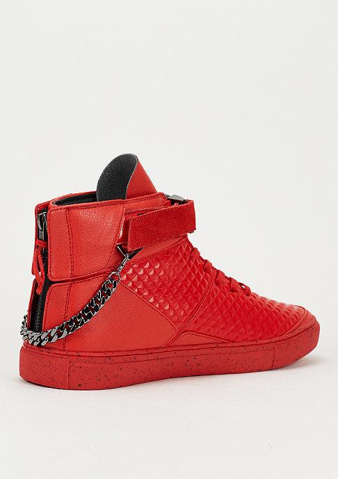 Cayler & Sons Schuh Hamachi red pyramids/black spreckles