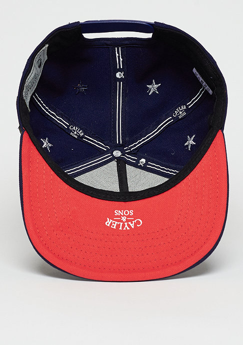 Cayler & Sons Snapback-Cap WL Angels navy/red