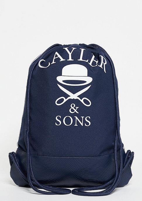 Cayler & Sons Turnbeutel WL Get It Gymbag grey/navy/red