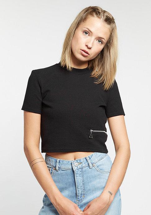 Cheap Monday T-Shirt Point Top black