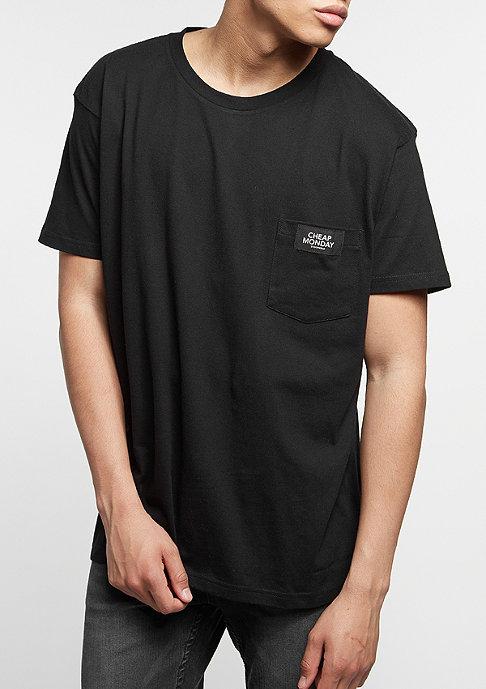 Cheap Monday T-Shirt Standard Pocket black