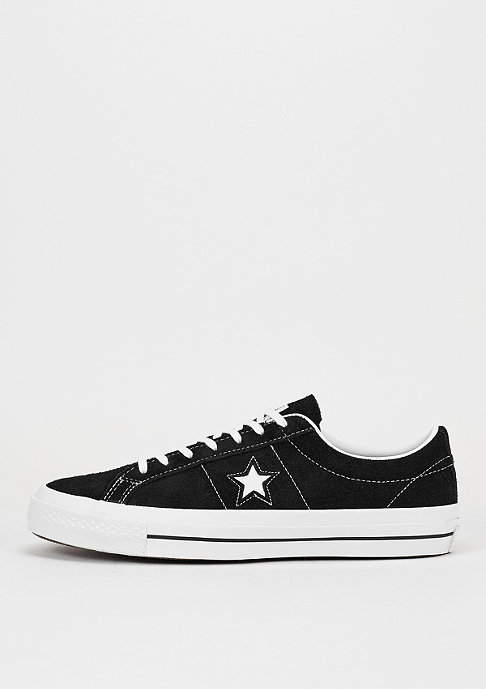Converse Schuh CONS One Star LS Ox black/white/gum
