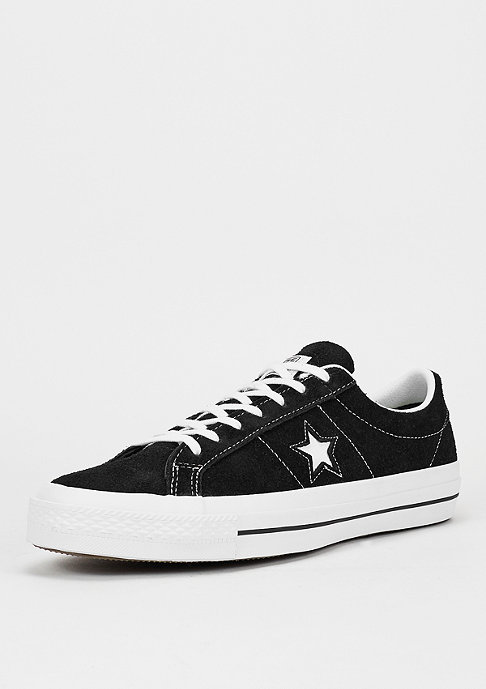 Converse Schuh CONS One Star LS Ox black/white/gum