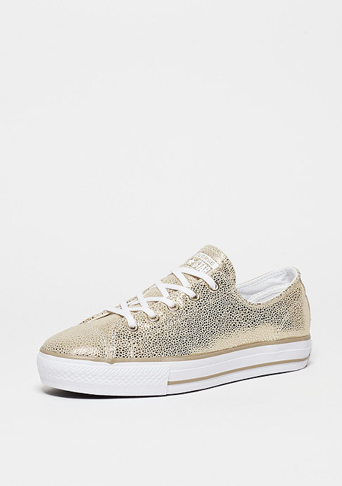 Converse Schuh CTAS High Line Ox light gold/black/white