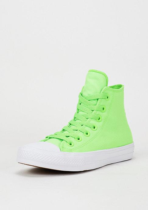 Converse Schuh CTAS II Neon green gecko/navy/white
