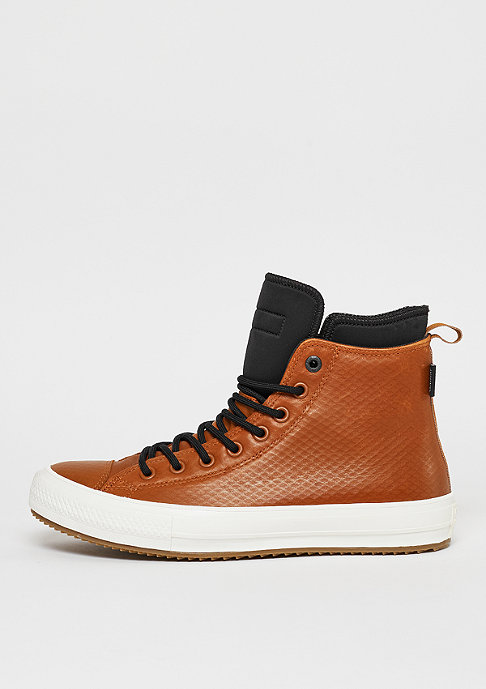 Converse Stiefel Chuck Taylor All Star II Leather Hi antique sepia/black/egret