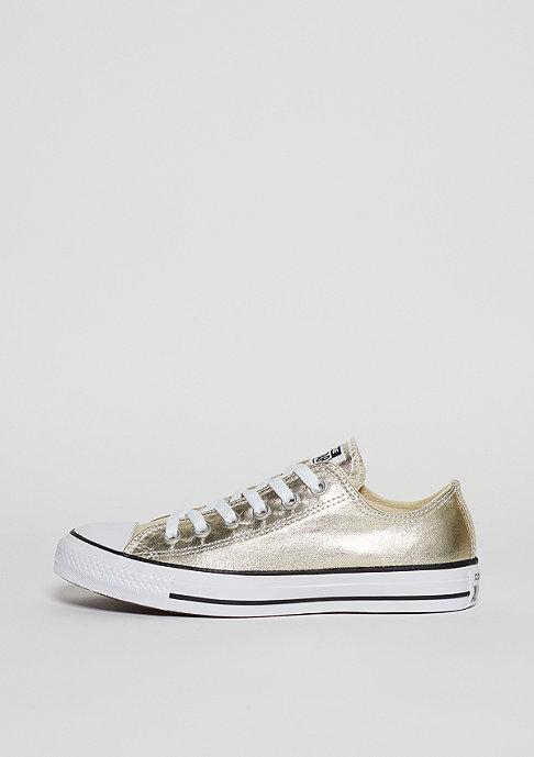 Converse Schuh CTAS Ox light gold/white/black