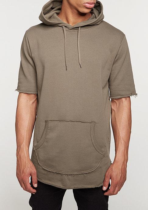 Criminal Damage Hooded-Sweatshirt Baller mushroom/brown