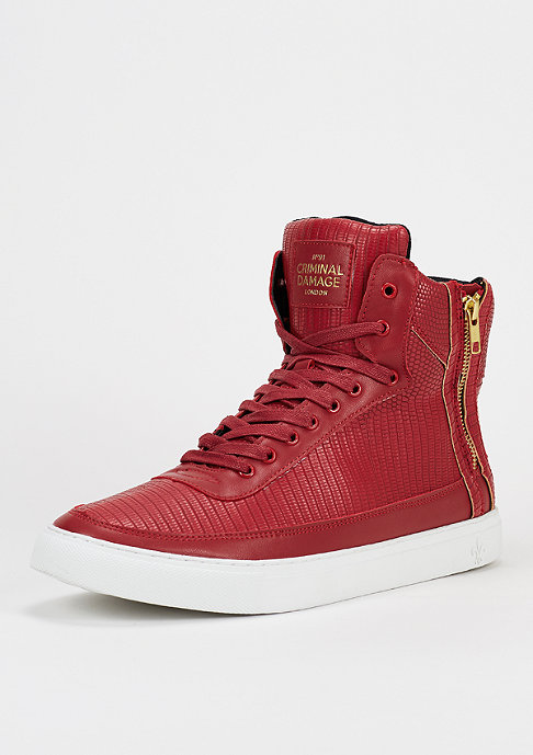Criminal Damage Schuh Catana red