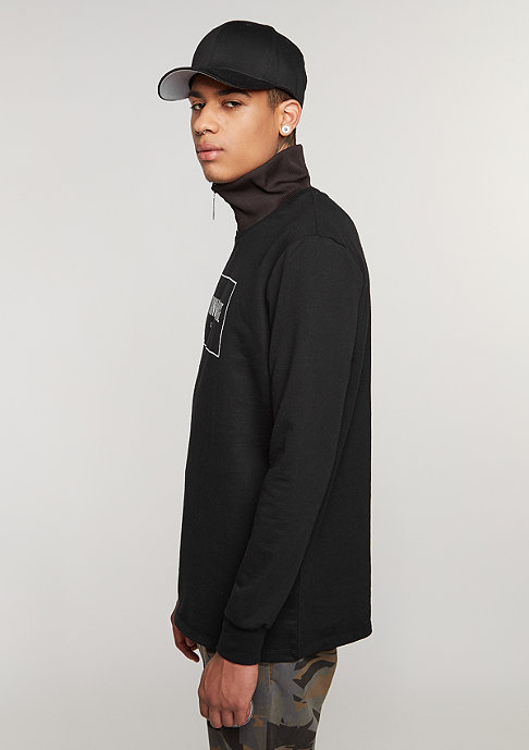 Criminal Damage Longsleeve Highline black/white