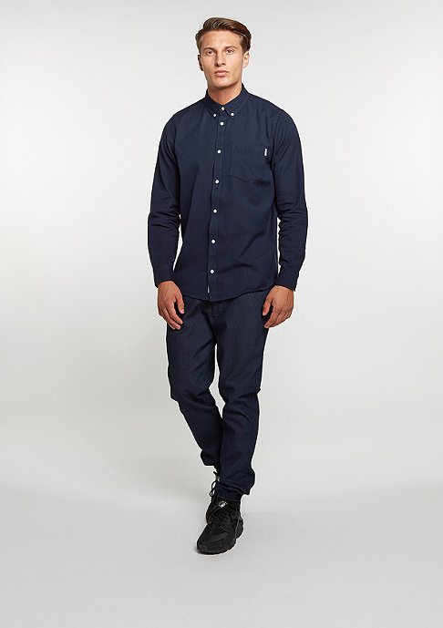 Carhartt WIP Hemd Dalton blue/black