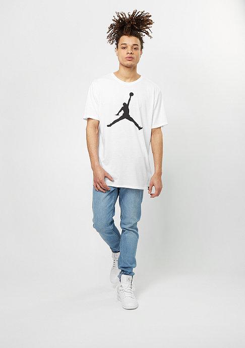 JORDAN T-Shirt Iconic Jumpman Logo white/black