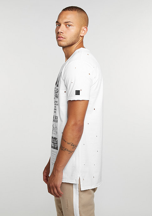 Black Kaviar T-Shirt Kazak White