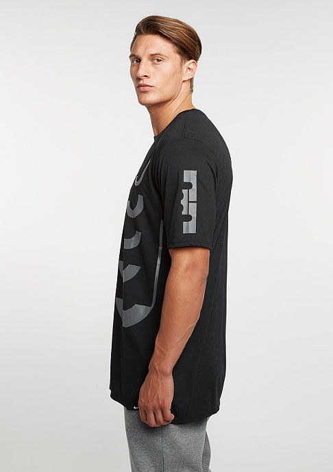 NIKE T-Shirt Lebron Art 1 black/black/dark grey