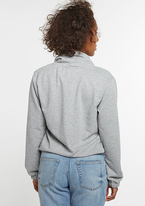 SNIPES Sweatshirt High Neck Crew grey