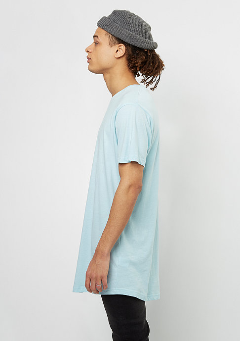 Urban Classics T-shirt Shaped Long baby blue