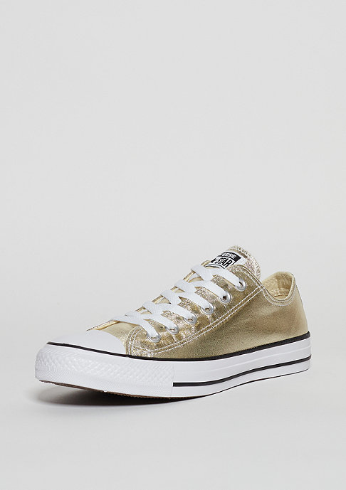 Converse CTAS Ox light gold/white/black