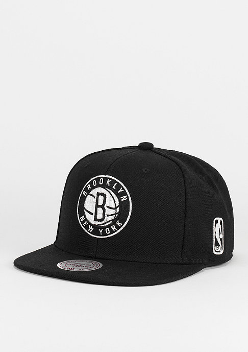 Mitchell & Ness Black & White NBA Brooklyn Nets