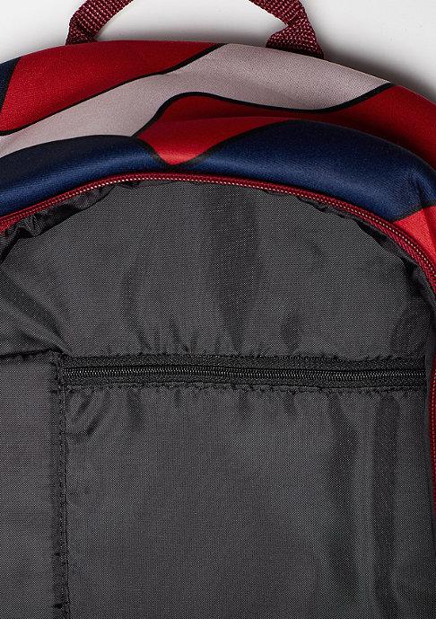 adidas Essential AOP collegiate burgundy/multicolor