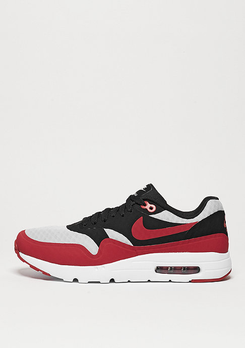 NIKE Schuh Air Max 1 Ultra Essential pure platinum/gym red/black