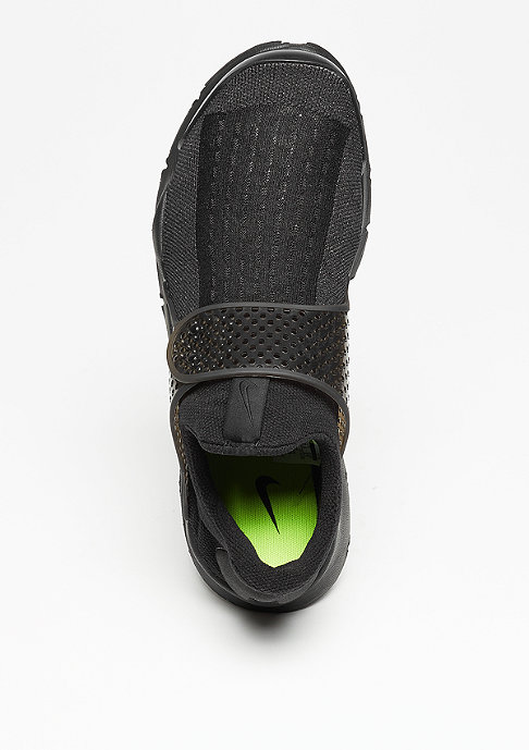 NIKE Laufschuh Sock Dart black/black/volt