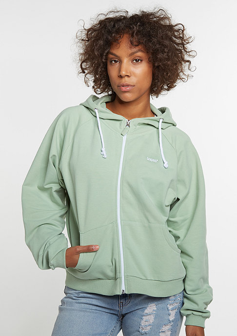 SNIPES Hooded-Zipper mint