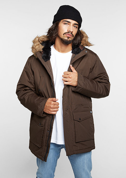 Dickies Jacke Curtis chocolate brown