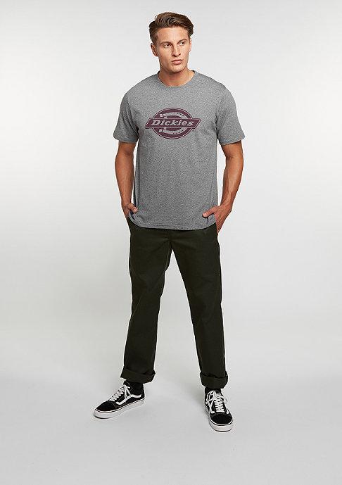 Dickies T-Shirt HS One Colour drk grey melange