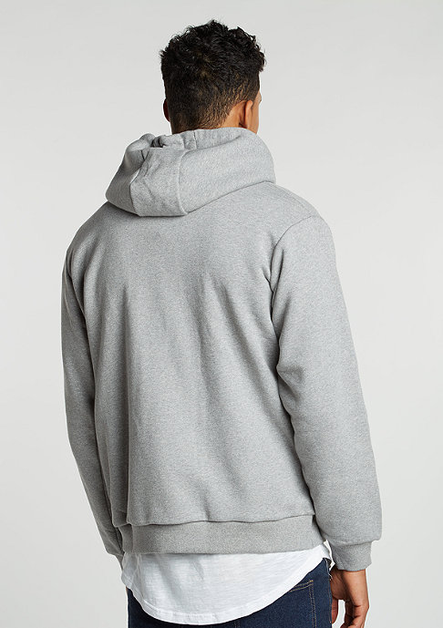 Dickies Hooded-Zipper Kingsley grey melange