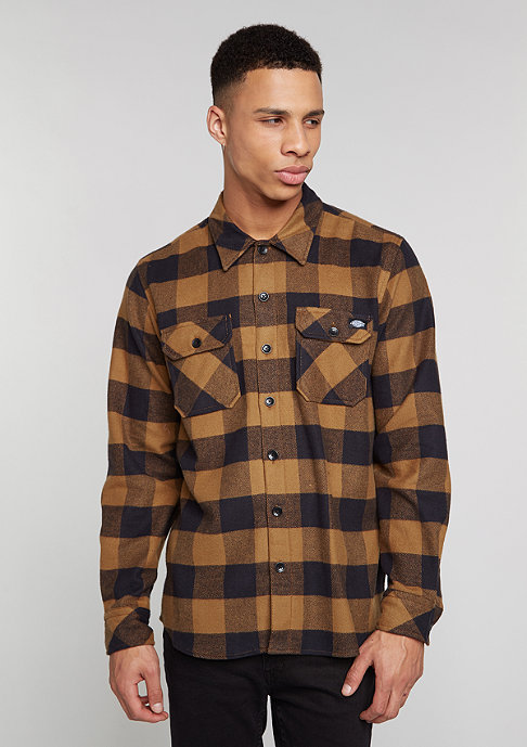 Dickies Hemd Sacramento brown/duck
