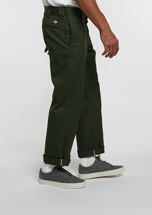 Dickies Chino-Hose WP873 Slim Straight Work Pant olive green