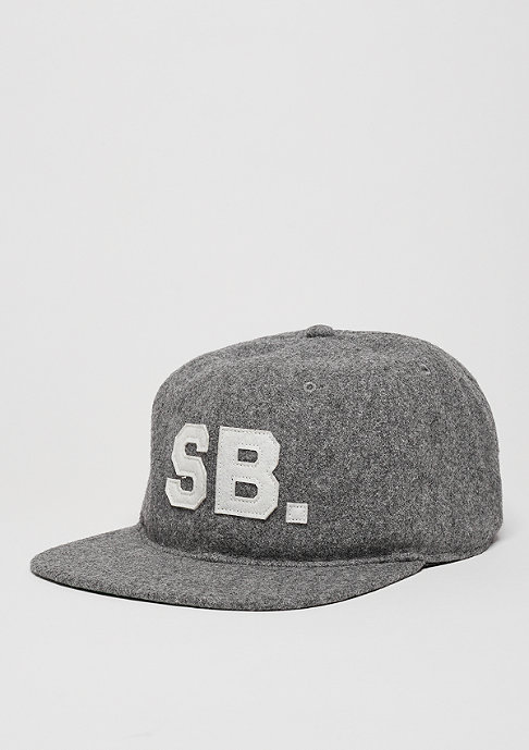NIKE SB Baseball-Cap Infield Pro dark grey heather/pine green/black